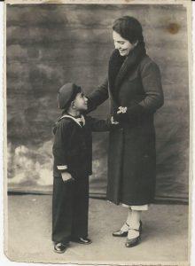 Franco con la madre Memore TotAlguer